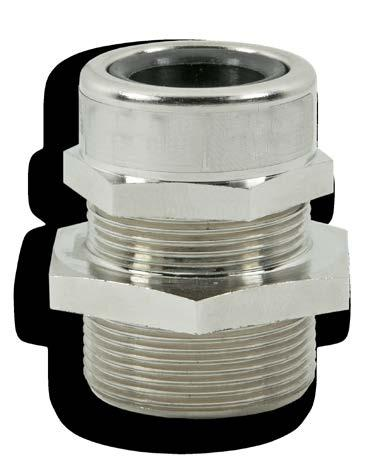 TEVL series watertight cable glands for non-armoured cables TEVL series cable glands are suitable for use in industrial plant for the direct insertion of non-armoured cables into watertight equipment