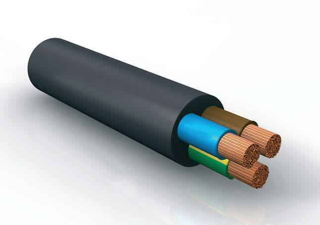 3 CABLES Special PVC with a higher oxygen index, are used in the case of compliance with non-propagating fire tests in accordance with standards CEI 20-22/2, CEI 20-2 /3, IEC 332.3A, IEC 332.3C.
