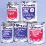 Anti-Seize Products NEVER-SEEZ Anti-Seize Stainless Anti-Seize Spray Rocol Anti-Seize Spray NEVER-SEEZ compound is a superior product for high temperature anti-seize and extreme pressure lubrication