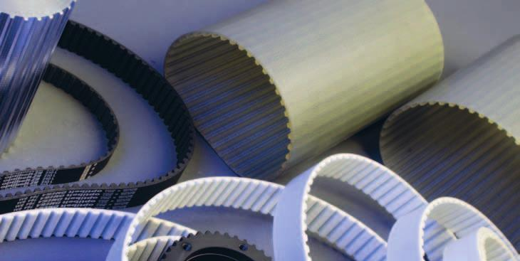 Belts and sleeves We supply polyurethane belts and sleeves with metric pitch,