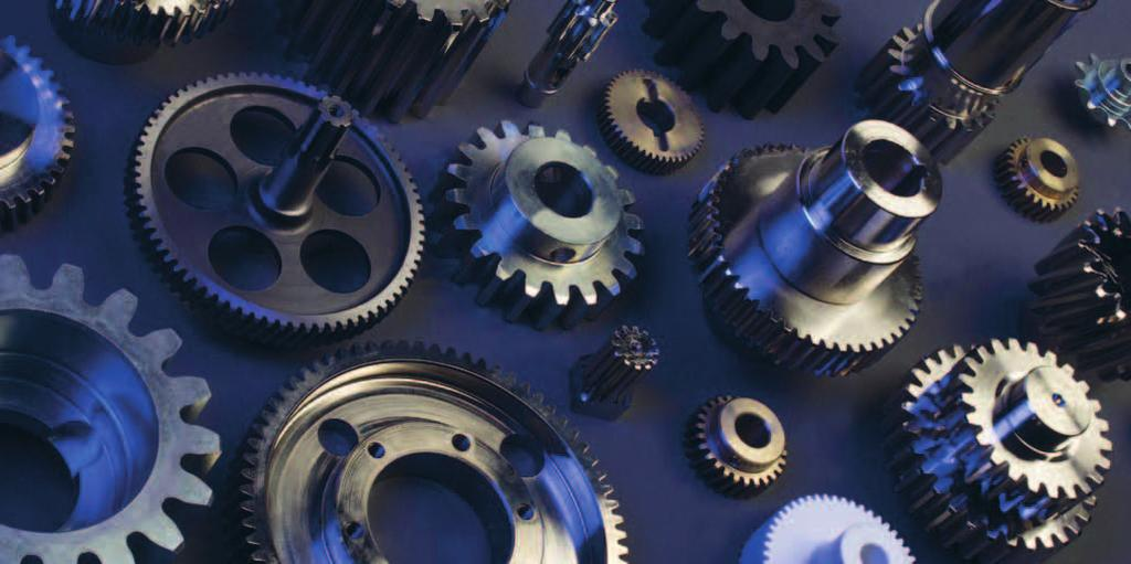 Gears We customise and manufacture based on your specifications small quantities or large batches of spur and helical