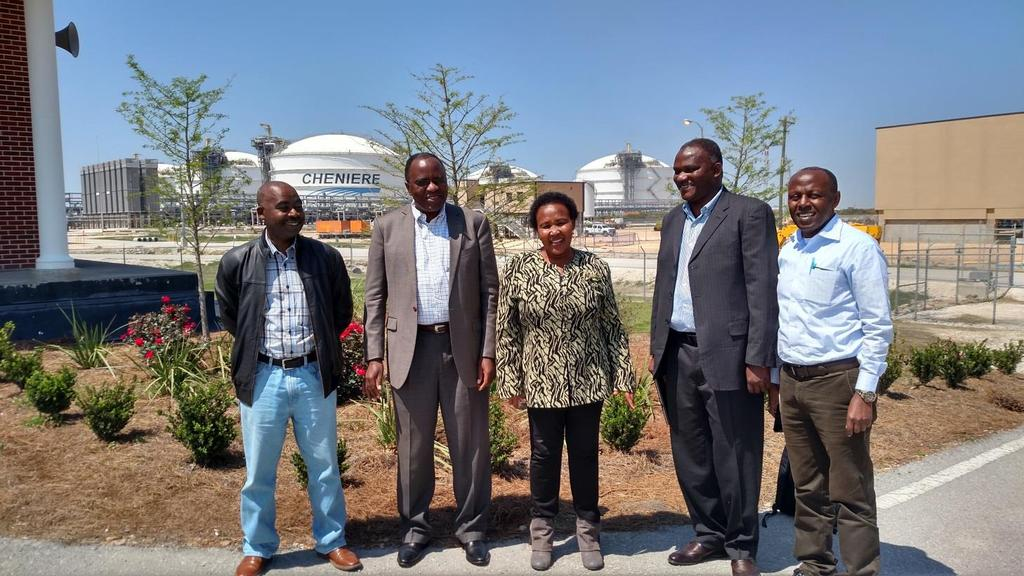 The four-member Tanzanian delegation met with U.S. energy companies, and government representatives from the U.S. Department of Energy, and the Federal Energy Regulatory Commission.
