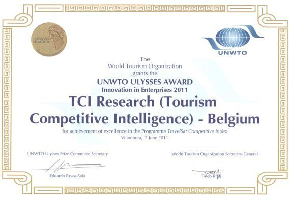 Data Source : TRAVELSAT A research platform powered by TCI Research Global Benchmarking Survey launched in 2011 UNWTO