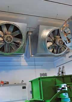 siempelkamp Machinery And Plants 18 19 Building fans Combined heat and power unit The result is impressive: At maximum heat utilization between fall and spring, a total efficiency of up to 87