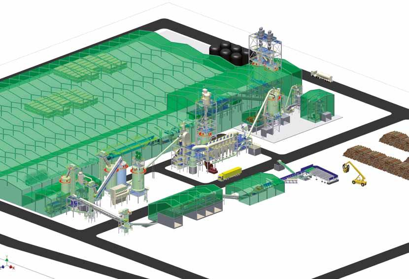 siempelkamp Machinery And Plants Start-up at Ivatsevichdrev: Complete particleboard plant sets 3-D plant layout Start-ups are pleasing culminations to plant projects celebrated alike by plant