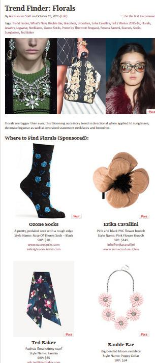 times in the week) and are archived on AccessoriesMagazine.com on the Trend Finder tab.