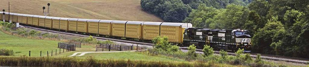 NS solution keeps Ford riding tall on rail Norfolk Southern works with customers to develop innovative solutions to business challenges.