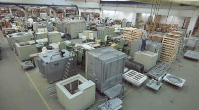 Short delivery times are ensured due to our complete inhouse production and our wide variety of standard furnaces.