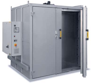 Chamber Furnaces, Electrical (N) or Gas-Fired (NB) for Core Drying, Thermal Decoring, and Preheating of Forms N 3920/26HAS N 4000/26HA with lift-door These low-temperature chamber furnaces are