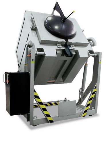 TC 80/14 KC 150/14 Additional Equipment Work platform for simplified loading For information on other accessories, see pages 18/19 Swing lid with good sealing to collar plate to avoid