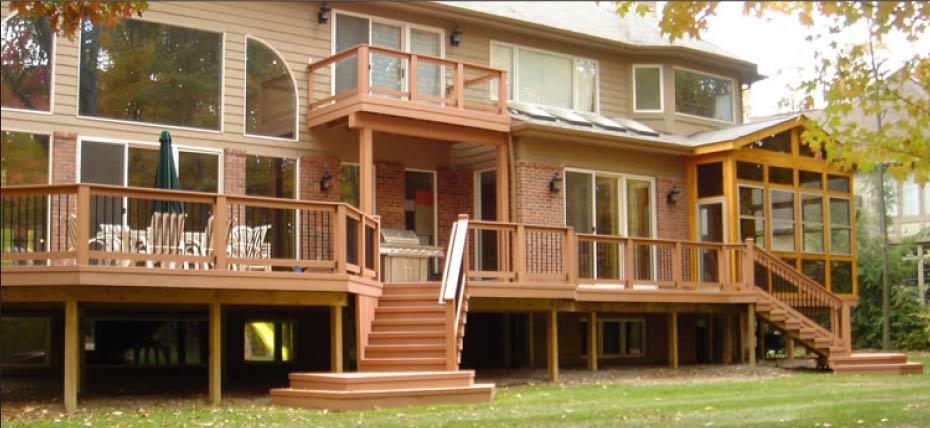 RESIDENTIAL WOOD DECK CONSTRUCTION GUIDE Based on The 2009 Michigan Residential