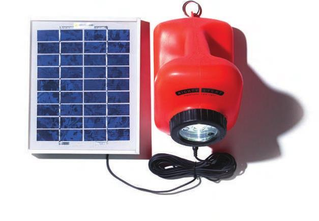 4B Big Ideas, Small Sizes This solar-powered light is useful for places