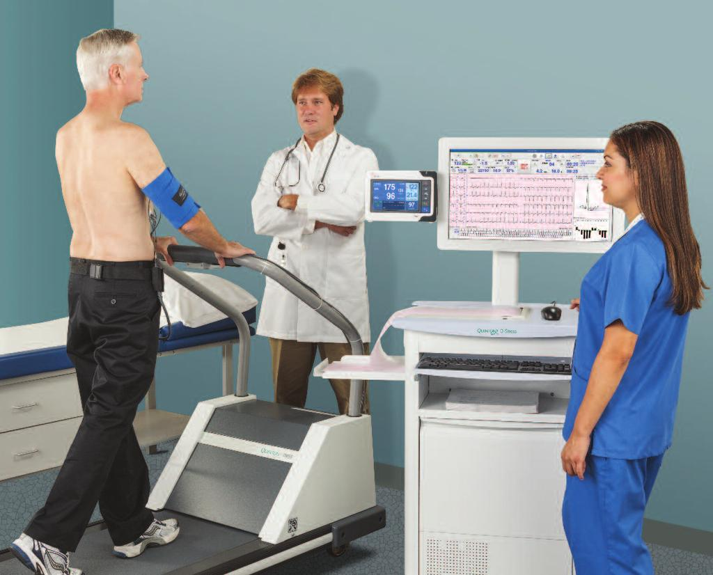 A Legacy of Clinical Excellence Mortara brings proven expertise to the forefront of diagnostic cardiac stress testing.