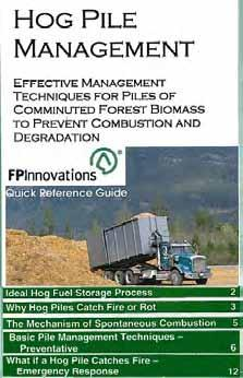 FPInnovations Quick Reference Guide In development for winter publication Summary of published literature Focusses on characteristics and management of
