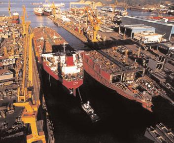 Ship & Offshore Projects Shell Shipping Technology has built up a wealth of unmatched experience in managing the construction of vessels and offshore structures in European, Korean and Japanese