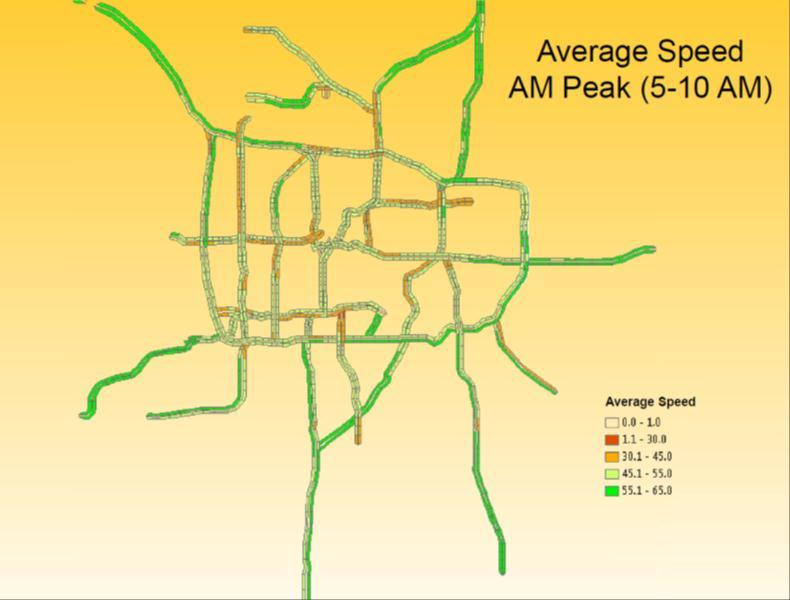 Recommendations Figure 27: Average Speed AM Peak in Twin Cities (Minnesota) 8.2.6.