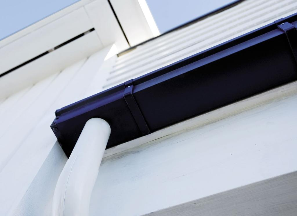 A perfect harmony of aesthetics and functionality Siba Square Siba Square rainwater system is an