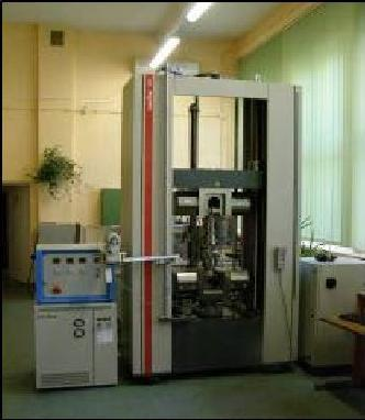 Comprehensive Lab Facilities Our MECHANICAL TESTS LABORATORY has many possibilities and includes the following brand new equipment: