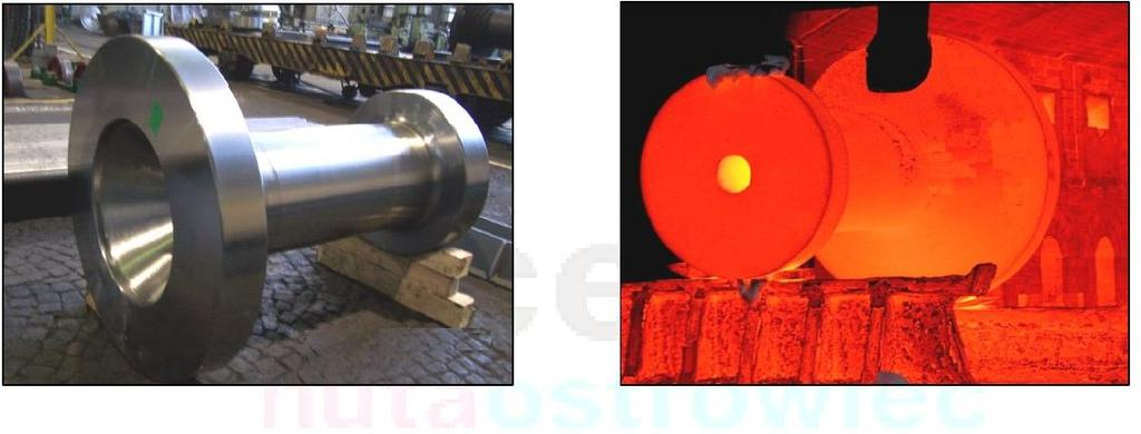 Power Industry GAS AND STEAM TURBINE SHAFTS AND COMPONENTS NORMALIZED Ø max 2.200 mm, L max 23.000 mm, Weight 60 tons /max/* VERTICAL QUENCHING AND TEMPERING Ø max 1.400 mm, L max 18.