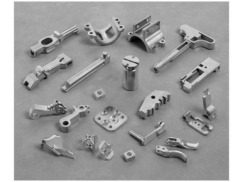 MIM Figure 18-12 Flow chart of the metal injection molding process (MIM) used to produce small, intricate-shaped parts from metal powder.