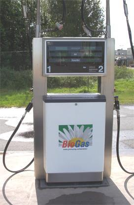 Odorised Injected into the gas grid or transported via compressed tanker Biomethane