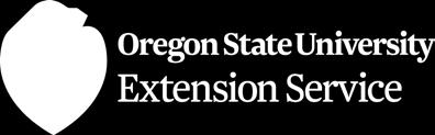 Oregon State University Extension Service Katrina Van Dis, Central Oregon