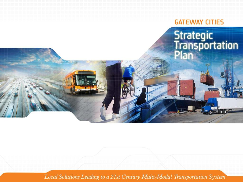 Strategic Transportation Plan Presented to: ECO-Rapid Transit Board of
