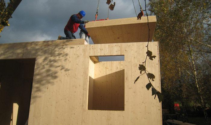 IBC 602.4.2 Cross-Laminated Timber in Exterior Walls Cross-laminated timber complying with Section 2303.1.