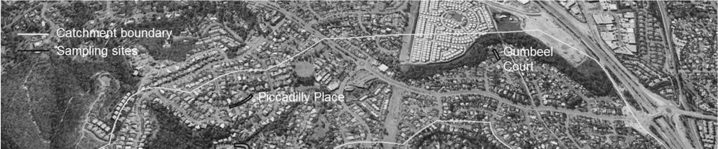 Environmental Science & Technology 2016 Vol. 1 A 105ha urban residential catchment, namely, Highland Park (Figure 1), located in Gold Coast, Australia was selected for the investigation.