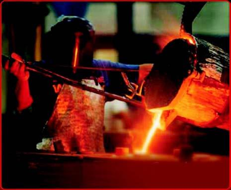 It is this process that developed into the forging industry in the modern
