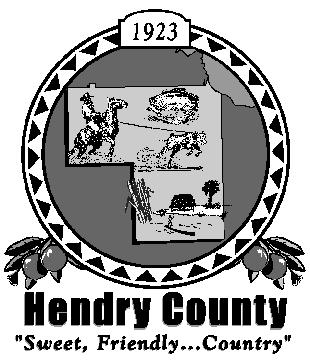 HENDRY COUNTY BUILDING, LICENSING & CODE ENFORCEMENT POST OFFICE BOX 2340 * 640 SOUTH MAIN STREET * LABELLE, FLORIDA 33975 * (863) 675-5245 * FAX: (863) 674-4194 1100 OLYMPIA ST CLEWISTON, FLORIDA