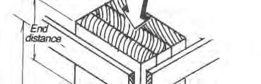Stud Bending Built-up up Lumber Columns Lateral force on studs further reduces the buckling capacity. This controls the design of exterior studs subjected to lateral wind or seismic forces.