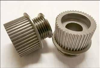 PM Tool Fabrication Benefits: This PM compaction tooling is another key element in Powder Metal Gears- PM tooling (dies, punches and core rods) is manufactured using tool steel and/or carbide by wire