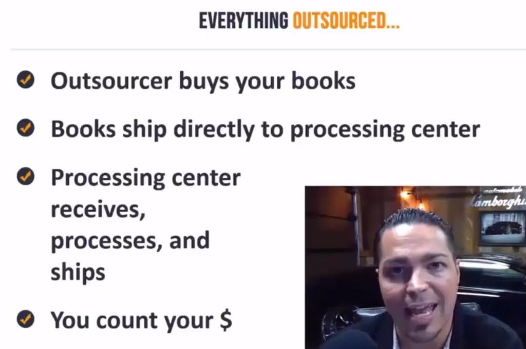 Check this out: Outsourcer buys your books Books ship directly to processing Processing