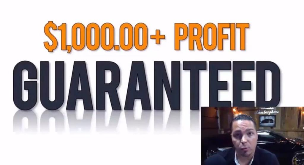 $1,000+ profit is guaranteed with this strategy.