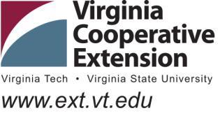Virginia Cooperative Extension Animal & Poultry Sciences 366 Litton Reaves (0306) Blacksburg, Virginia 24061 540/231-9159 Fax: 540/231-3010 E-mail: sgreiner@vt.