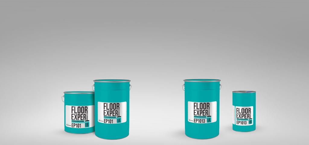 Floor Expert EP 101 Two-component primer based on epoxy resin, solvent-free Floor Expert EP 1013 Two-component economical primer based on epoxy resin, solvent-free Priming of concrete floors and