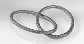 Additive manufactured carbon components 9 CARBOPRINT M Metal carbon composites Metal carbon composites are designed for purposes where the combination of metal and carbon properties are needed.