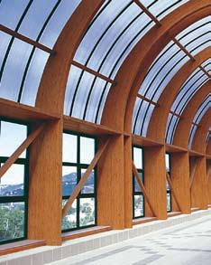 nordlam Extra services on request 13 G l u l a m Custom made components Product description To complement our Glulam product range, we can also supply all types of curved beams and supports from our