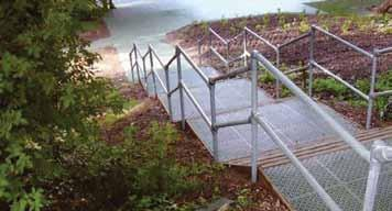balustrading and handrailing on stairways and ramps. Our KEE ACCESS range meets all these requirements and complies with current Building Regulations.