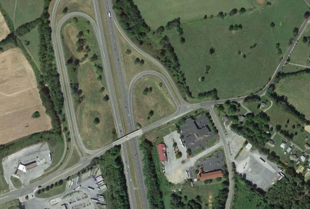 Realign I-77 ramps to align with Peppers Ferry Rd. at Nye Rd.
