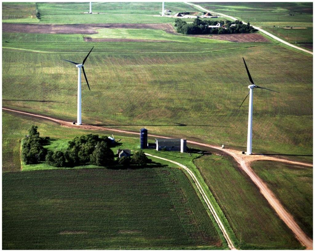 Wind Energy Few environmental problems Kills birds and bats No waste -