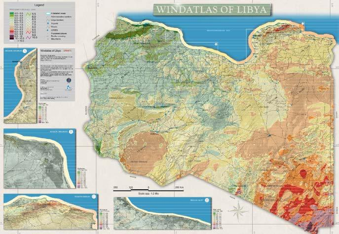 1.2 Finding a location Wind atlas for Libya Wind Measurement Wind Mapping Wind Atlas Country: