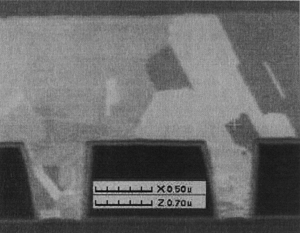 438 K. Weiss et al. / Microelectronic Engineering 50 (2000) 433 440 Fig. 5. Copper EP fill on MOCVD Cu seed layer (tilted FIB image).