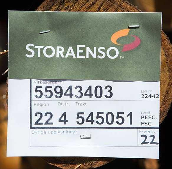 Stora Enso promotes forest certification wherever the Group operates The Group aims to increase the proportions of wood coming from certified forests.