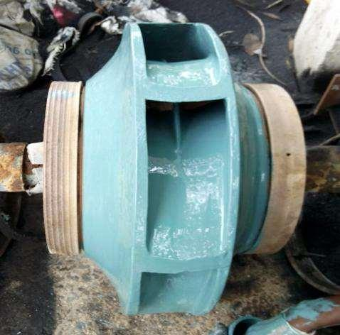 pumps wetted parts to reduce the friction loss hence improve