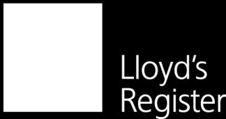 Lloyd s Register and variants of it are trading names of Lloyd s Register Group Limited, its subsidiaries and