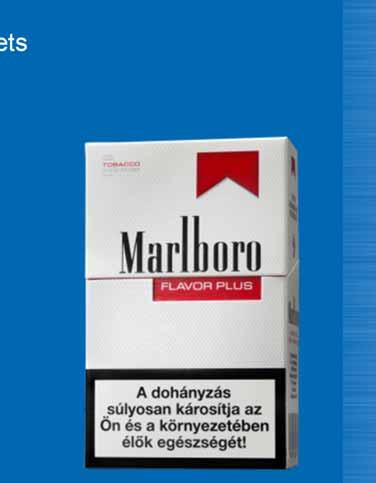 Marlboro Filter / Flavor Plus Delivers tobacco taste in a low-tar cigarette thanks to innovative filter technology Achieved 5.