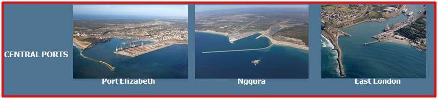 7.2.4 Seaport infrastructure The Eastern Cape has 3 main ports: Port Elizabeth, Ngqura and East London.