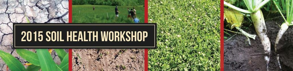 2015 CORNELL SOIL HEALTH TRAIN-THE-TRAINER WORKSHOP AUGUST 5-8, 2015 ITHACA, NY Background / References: Wet Aggregate Stability Test The Wet Aggregate Stability (WAS) Test assesses the extent to